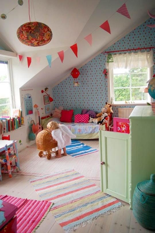 vrolijke kleuren voor de kinderkamer - woonzinnig, Deco ideeën