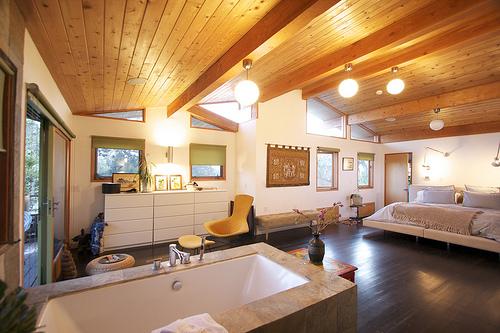woonkamer verlichting van een droomhuis